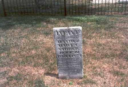 SARBER, INFANT - Franklin County, Ohio   INFANT SARBER - Ohio Gravestone Photos