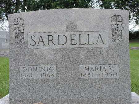 SARDELLA, DOMINIC - Franklin County, Ohio   DOMINIC SARDELLA - Ohio Gravestone Photos