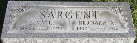 SARGENT, BERNARD A - Franklin County, Ohio | BERNARD A SARGENT - Ohio Gravestone Photos