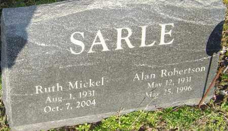 SARLE, ALAN ROBERTSON - Franklin County, Ohio | ALAN ROBERTSON SARLE - Ohio Gravestone Photos