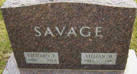 SAVAGE, LILLIAN M - Franklin County, Ohio | LILLIAN M SAVAGE - Ohio Gravestone Photos