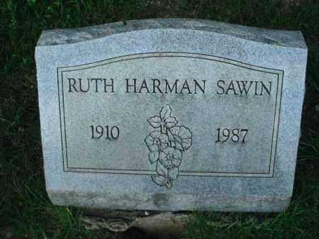 SAWIN, RUTH - Franklin County, Ohio | RUTH SAWIN - Ohio Gravestone Photos