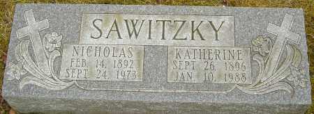 SAWITZKY, KATHERINE - Franklin County, Ohio | KATHERINE SAWITZKY - Ohio Gravestone Photos