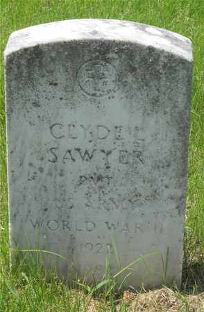 SAWYER, CLYDE L. - Franklin County, Ohio | CLYDE L. SAWYER - Ohio Gravestone Photos
