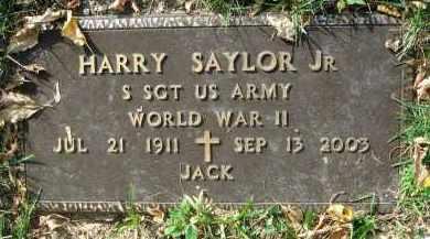 SAYLOR, HARRY - Franklin County, Ohio | HARRY SAYLOR - Ohio Gravestone Photos