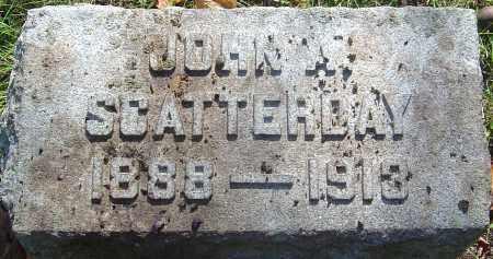SCATTERDAY, JOHN A - Franklin County, Ohio | JOHN A SCATTERDAY - Ohio Gravestone Photos