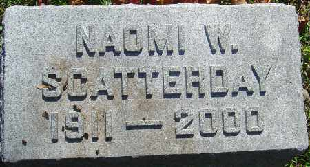 SCATTERDAY, NAOMI K - Franklin County, Ohio | NAOMI K SCATTERDAY - Ohio Gravestone Photos