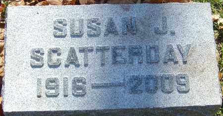 SCATTERDAY, SUSAN J - Franklin County, Ohio | SUSAN J SCATTERDAY - Ohio Gravestone Photos