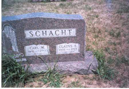 SCHACHT, GLADYS E. - Franklin County, Ohio   GLADYS E. SCHACHT - Ohio Gravestone Photos
