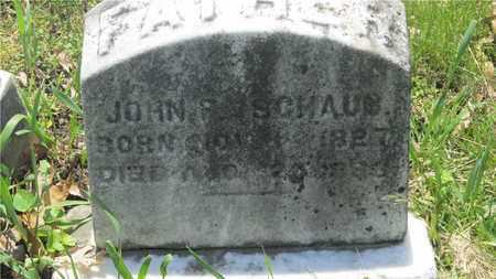 SCHAUB, JOHN - Franklin County, Ohio   JOHN SCHAUB - Ohio Gravestone Photos