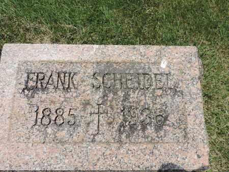 SCHELDEL, FRANK - Franklin County, Ohio | FRANK SCHELDEL - Ohio Gravestone Photos