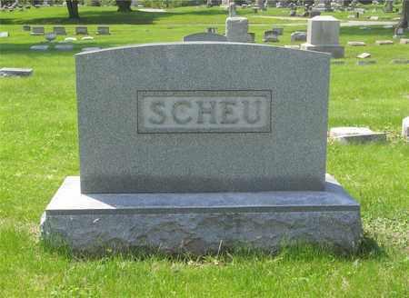 SCHEU, FAMILY MONUMENT - Franklin County, Ohio | FAMILY MONUMENT SCHEU - Ohio Gravestone Photos
