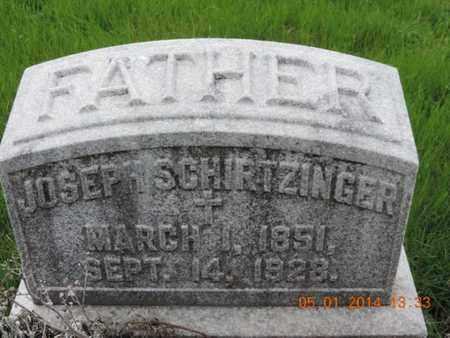 SCHIRTZINGER, JOSEPH - Franklin County, Ohio   JOSEPH SCHIRTZINGER - Ohio Gravestone Photos