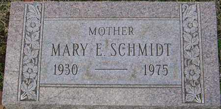 SCHMIDT, MARY E - Franklin County, Ohio   MARY E SCHMIDT - Ohio Gravestone Photos