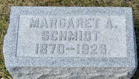 SCHMIDT, MARGARET A - Franklin County, Ohio | MARGARET A SCHMIDT - Ohio Gravestone Photos