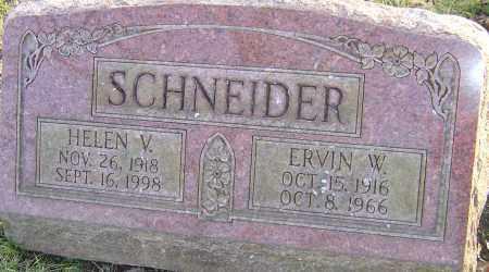 SCHNEIDER, HELEN - Franklin County, Ohio | HELEN SCHNEIDER - Ohio Gravestone Photos