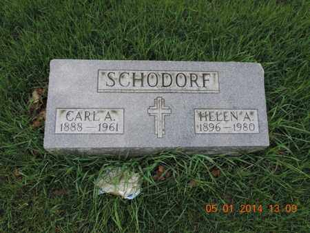 SCHODORF, HELEN A - Franklin County, Ohio | HELEN A SCHODORF - Ohio Gravestone Photos