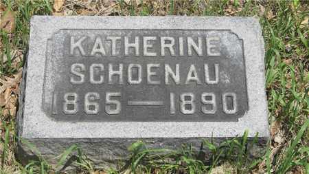 SCHOENAU, KATHERINE - Franklin County, Ohio | KATHERINE SCHOENAU - Ohio Gravestone Photos