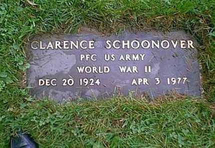 """SCHOONOVER, CLARENCE JR.  """"JAKE"""" - Franklin County, Ohio   CLARENCE JR.  """"JAKE"""" SCHOONOVER - Ohio Gravestone Photos"""