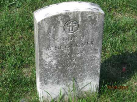 SCHOONOVER, LINDY JOE - Franklin County, Ohio | LINDY JOE SCHOONOVER - Ohio Gravestone Photos