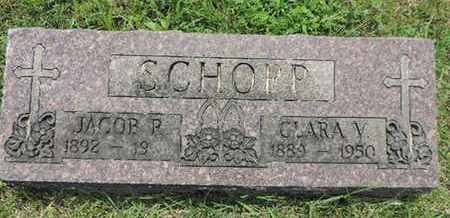 SCHOPP, JACOB P. - Franklin County, Ohio | JACOB P. SCHOPP - Ohio Gravestone Photos