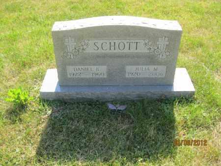 SCHOTT, DANIEL B - Franklin County, Ohio | DANIEL B SCHOTT - Ohio Gravestone Photos