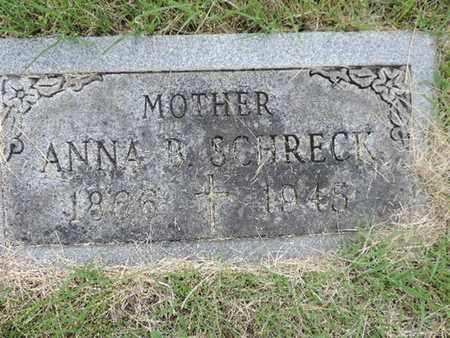 SCHRECK, ANNA B. - Franklin County, Ohio   ANNA B. SCHRECK - Ohio Gravestone Photos
