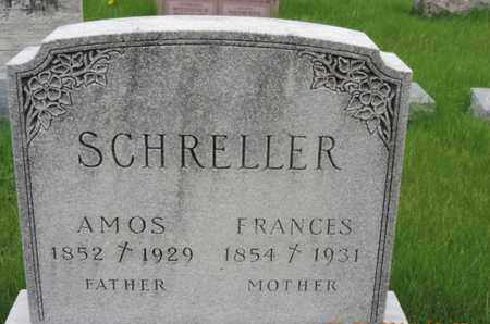 SCHRELLER, AMOS - Franklin County, Ohio | AMOS SCHRELLER - Ohio Gravestone Photos