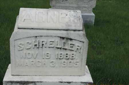 SCHRELLER, AGNES - Franklin County, Ohio | AGNES SCHRELLER - Ohio Gravestone Photos