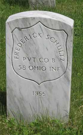SCHULTZ, FREDERICK - Franklin County, Ohio   FREDERICK SCHULTZ - Ohio Gravestone Photos