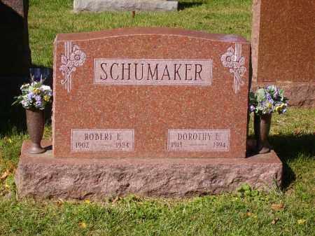 SCHUMAKER, ROBERT E. - Franklin County, Ohio | ROBERT E. SCHUMAKER - Ohio Gravestone Photos