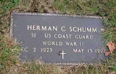 SCHUMM, HERMAN C. - Franklin County, Ohio | HERMAN C. SCHUMM - Ohio Gravestone Photos