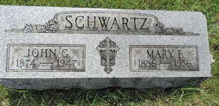 SCHWARTZ, JOHN G - Franklin County, Ohio | JOHN G SCHWARTZ - Ohio Gravestone Photos