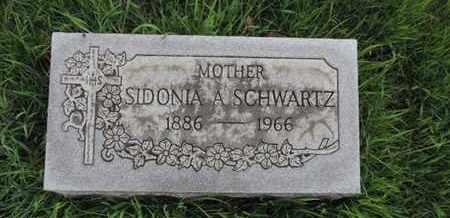 SCHWARTZ, SIDONIA A - Franklin County, Ohio | SIDONIA A SCHWARTZ - Ohio Gravestone Photos