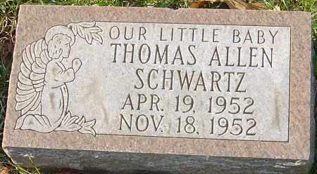 SCHWARTZ, THOMAS ALLEN - Franklin County, Ohio | THOMAS ALLEN SCHWARTZ - Ohio Gravestone Photos