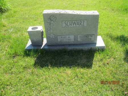 HAAG SCHWARZ, FLORENCE WILMA - Franklin County, Ohio | FLORENCE WILMA HAAG SCHWARZ - Ohio Gravestone Photos