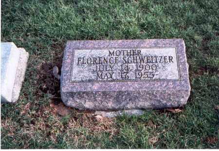 SCHWEITZER, FLORENCE - Franklin County, Ohio   FLORENCE SCHWEITZER - Ohio Gravestone Photos