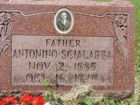 SCIALABBA, ANTONINO - Franklin County, Ohio | ANTONINO SCIALABBA - Ohio Gravestone Photos