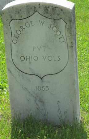 SCOTT, GEORGE W. - Franklin County, Ohio | GEORGE W. SCOTT - Ohio Gravestone Photos