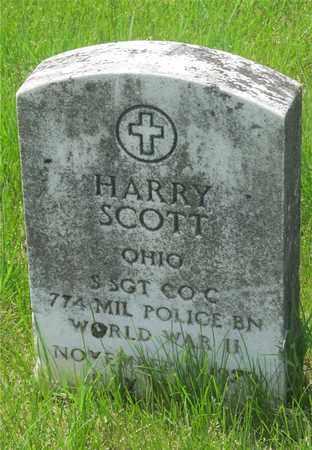 SCOTT, HARRY - Franklin County, Ohio   HARRY SCOTT - Ohio Gravestone Photos