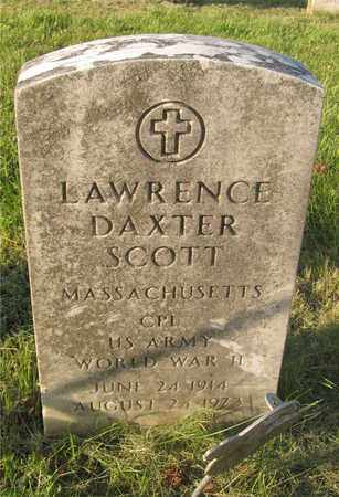 SCOTT, LAWRENCE DAXTER - Franklin County, Ohio | LAWRENCE DAXTER SCOTT - Ohio Gravestone Photos