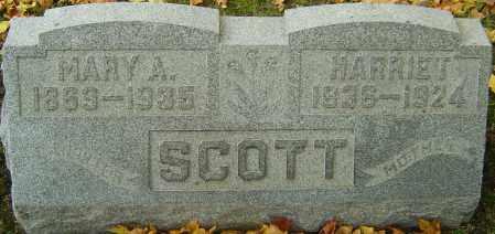 SCOTT, HARRIET - Franklin County, Ohio | HARRIET SCOTT - Ohio Gravestone Photos