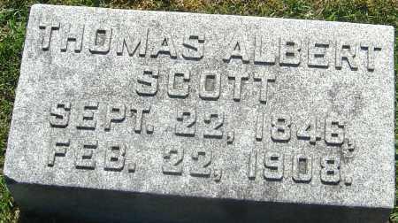 SCOTT, THOMAS ALBERT - Franklin County, Ohio | THOMAS ALBERT SCOTT - Ohio Gravestone Photos