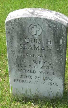 SEAMAN, LOUIS H. - Franklin County, Ohio   LOUIS H. SEAMAN - Ohio Gravestone Photos