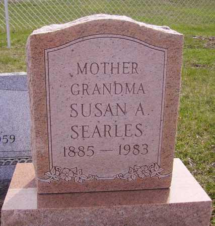 SEARLES, SUSAN A. - Franklin County, Ohio   SUSAN A. SEARLES - Ohio Gravestone Photos