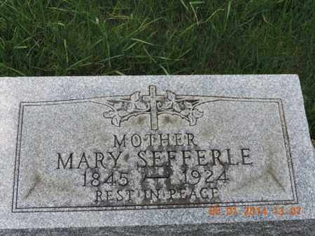 SEFFERLE, MARY - Franklin County, Ohio | MARY SEFFERLE - Ohio Gravestone Photos
