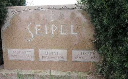 SEIPEL, MINNIE - Franklin County, Ohio | MINNIE SEIPEL - Ohio Gravestone Photos