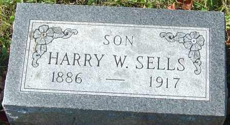 SELLS, HARRY W - Franklin County, Ohio   HARRY W SELLS - Ohio Gravestone Photos
