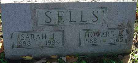 SELLS, HOWARD BENNETT - Franklin County, Ohio | HOWARD BENNETT SELLS - Ohio Gravestone Photos