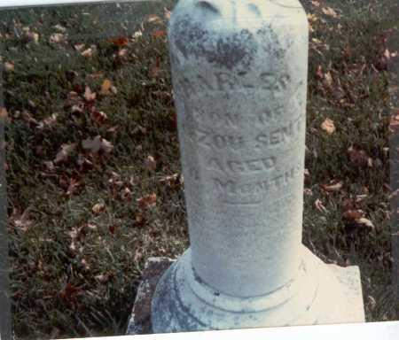 SENTER, CHARLES - Franklin County, Ohio   CHARLES SENTER - Ohio Gravestone Photos